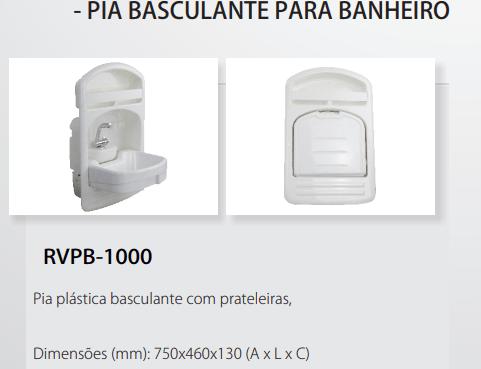 Pia Basculante para Motor-Home - RV PARTS