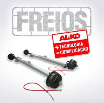 Sistema de Freio para Reboques e Trailers - ALKO