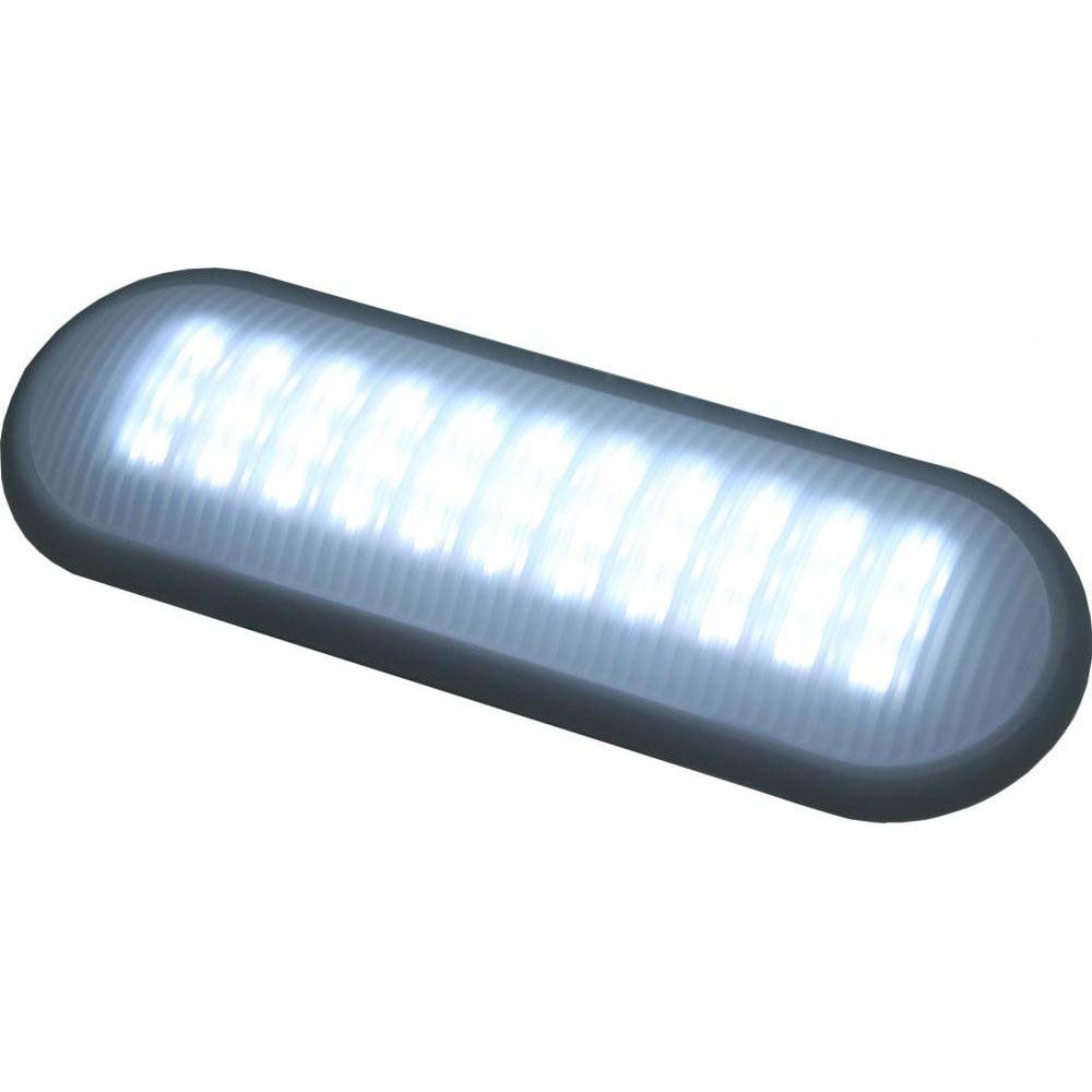 Luminária Mini Versatile 12V 60 Leds c/Interruptor - Oval - Imatron