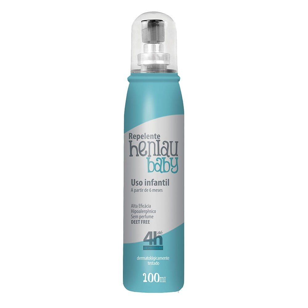 HENLAU REPELENTE BABY SPRAY (100ML)