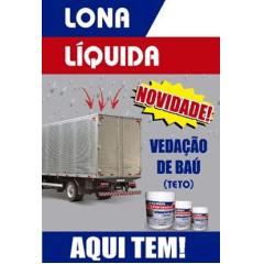 Impermeabilizante Lona Líquida 5 Litros - Linha Profissional (para baú de caminhão e telhados) - Estoque Vitória da Conquista