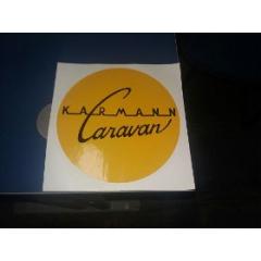 Adesivo Trailer Karmann Caravan KC