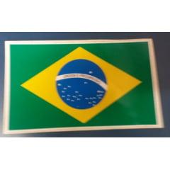 Adesivo - Bandeira do Brasil - 20x10cm