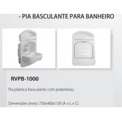 Pia Basculante para Motor-Home - RV PARTS