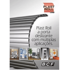 PLAST ROLL - Porta Deslizante - Porta De Enrolar de PVC