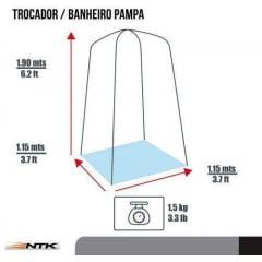 Trocador Banheiro Pampa - NTK - NAUTIKA