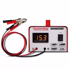 Carregador de Bateria 10Ah com Voltímetro  - TRAFOTRON